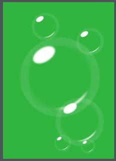用CorelDRAW绘制逼真气泡泡