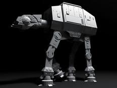 Maya建模,星战步行者--SoutHwarD第二次发帖