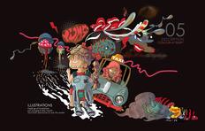 新锐插画师丘铭仪的作品集 个人网站www.isabelho.com