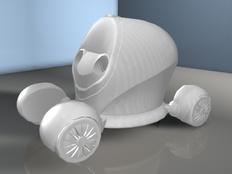 (龙少作品)环保概念电力车