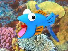 (龙少PROE4.0作品)~~恐慌的鱼~~哈哈```挑战你的神经
