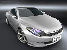 几组汽车三维动画和汽车模型效果图