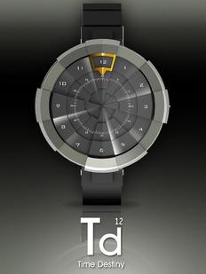与众不同的手表Time Destiny 设计发表!!