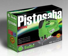 电动工具工业产品包装盒设计