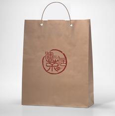 茶叶专卖店手提袋设计