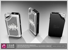 中睿的一组音箱外观设计