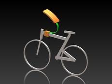 一个自行车配件,很实用的