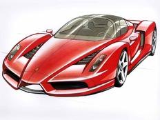 汽车手绘草图总汇(300多P)(上传完毕)