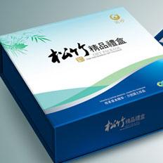 雪花啤酒饺子油保健品礼盒包装盒设计