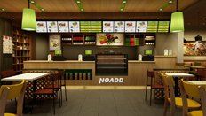 农臣甸中式快餐生态餐厅设计