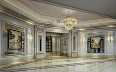 天津会所室内设计效果图
