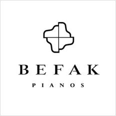 国际知名钢琴品牌BEFAK新标志设计