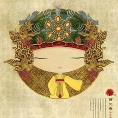 Q版金陵十二钗人物插图设计欣赏