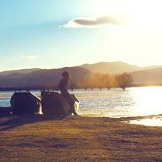 ps调出美丽的黄昏日照