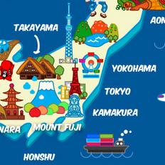 日本旅遊圖
