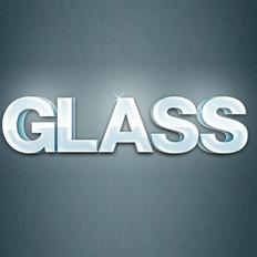 ps制作玻璃立体字教程