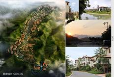 鲜度设计·商业设计欣赏 - 富力·南昆山温泉养生谷