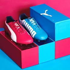 包装设计:彪马世界杯限量版球鞋包装设计