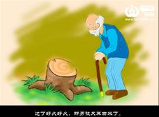 动画《苹果树》祝福大家父亲节日快乐。