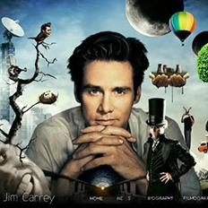Jim Carrey金·凯瑞官方网站设计欣赏