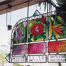 国外酒店指示标牌系统设计