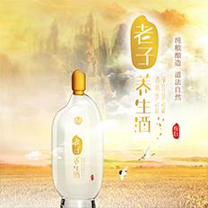 《老子养生酒》中国白酒注意包装设计大赛冠军作品