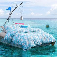 皇冠家纺—马尔代夫外拍之旅完美谢幕!——刘锡敏设计顾问