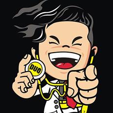 蜜蜂设计团队作品/陈奕迅卡通形象设计