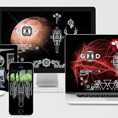 上海honeydesign.cc设计作品|GOD8DAY.COM 品牌视觉系统及官方网站设计