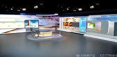 电视台农业栏目演播室图例