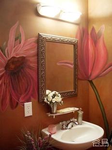 创意手绘墙,家居更精彩