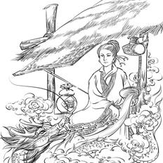 创乐绘作品之古风类相关插图
