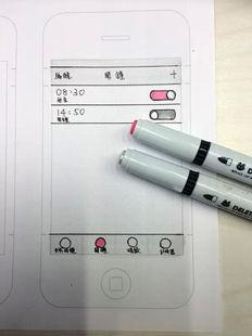 【手绘分享】看牛人教你如何画出手机APP软件