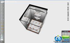 电梯装潢三维3d展示系统