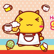 哈咪猫甜品店海报菜单