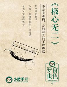小肥羊餐厅海报---食色安也主题【极心无二】