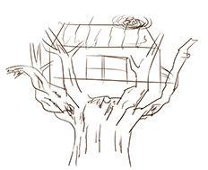 有趣的树屋设计比赛 来看看我画的