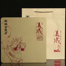 """雨林古茶坊""""美成""""包装设计。《新道设计》普洱茶包装设计作品"""