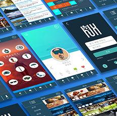 花途印象-UI策划及设计-时与间品牌设计