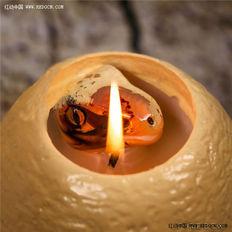 这个蜡烛蛋竟然能孵出恐龙!