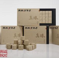 快消型普洱茶迷你沱茶包装设计真珠包装设计分享。茶叶包装设计机构新道设计作品