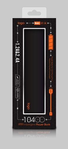 移动电源包装 电子产品包装 酷炫包装
