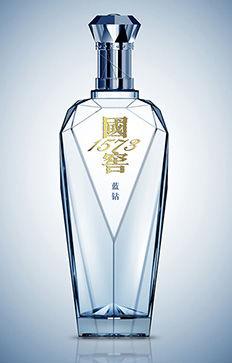 国窖蓝钻酒瓶包装设计—杰诺广告包装设计案例分享