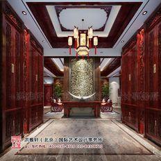 别墅中式设计 雅意秀美气韵传神