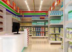 成都超市装修设计,成都便利店装修设计,柏尼装饰