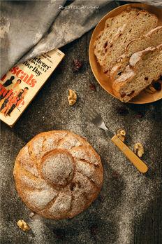一组面包拍摄