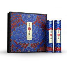 牡丹籽油礼盒包装设计欣赏——智圆行方包装设计机构
