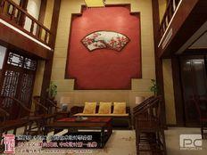 古典复式楼客厅装修效果图大全