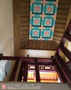 河北泊莲禅寺寺院室内装修施工现场