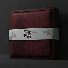 大米包装设计欣赏——智圆行方大米包装设计